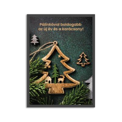 Képeslap - Pálinkával boldogabb az új év és a karácsony