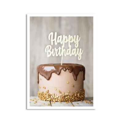 Képeslap - Happy Birthday