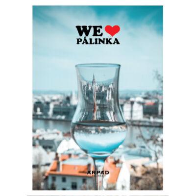 Képeslap - We love pálinka